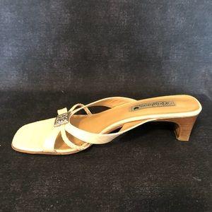 Brighton Cream Kayla Slide Heels